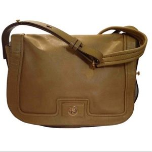 Marc Jacobs Brown Leather Crossbody Flap Bag